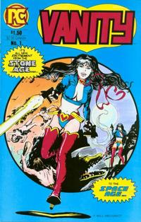 Cover Thumbnail for Vanity (Pacific Comics, 1984 series) #1