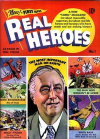 Cover Thumbnail for Real Heroes (Parents' Magazine Press, 1941 series) #1
