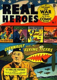 Cover Thumbnail for Real Heroes (Parents' Magazine Press, 1941 series) #7
