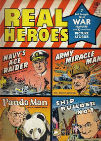 Cover Thumbnail for Real Heroes (Parents' Magazine Press, 1941 series) #9