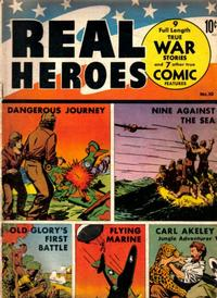 Cover Thumbnail for Real Heroes (Parents' Magazine Press, 1941 series) #10
