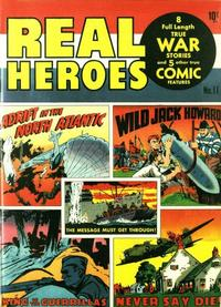 Cover Thumbnail for Real Heroes (Parents' Magazine Press, 1941 series) #11