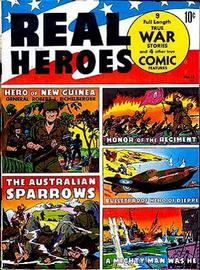 Cover Thumbnail for Real Heroes (Parents' Magazine Press, 1941 series) #12