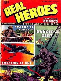 Cover Thumbnail for Real Heroes (Parents' Magazine Press, 1941 series) #13