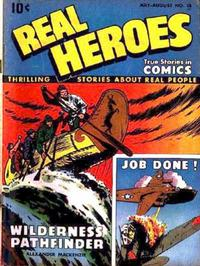 Cover Thumbnail for Real Heroes (Parents' Magazine Press, 1941 series) #15