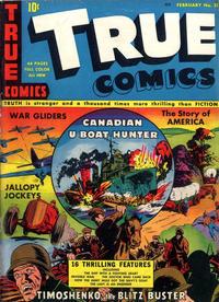 Cover Thumbnail for True Comics (Parents' Magazine Press, 1941 series) #21
