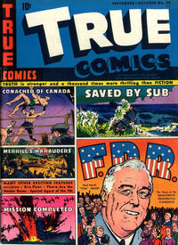 Cover Thumbnail for True Comics (Parents' Magazine Press, 1941 series) #39