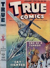 Cover Thumbnail for True Comics (Parents' Magazine Press, 1941 series) #56