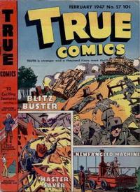 Cover Thumbnail for True Comics (Parents' Magazine Press, 1941 series) #57