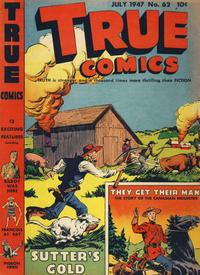 Cover Thumbnail for True Comics (Parents' Magazine Press, 1941 series) #62