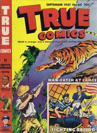 Cover Thumbnail for True Comics (Parents' Magazine Press, 1941 series) #64