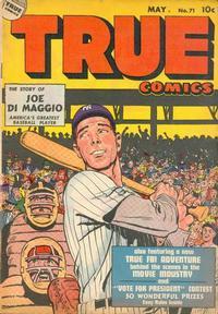 Cover Thumbnail for True Comics (Parents' Magazine Press, 1941 series) #71
