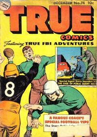 Cover Thumbnail for True Comics (Parents' Magazine Press, 1941 series) #74