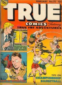Cover Thumbnail for True Comics (Parents' Magazine Press, 1941 series) #75