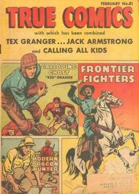 Cover Thumbnail for True Comics (Parents' Magazine Press, 1941 series) #81