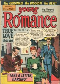 Cover Thumbnail for Young Romance (Prize, 1947 series) #v4#9 (33)