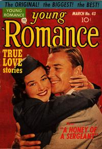 Cover Thumbnail for Young Romance (Prize, 1947 series) #v5#7 (43)