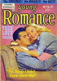 Cover Thumbnail for Young Romance (Prize, 1947 series) #v5#9 (45)