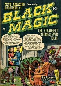 Cover Thumbnail for Black Magic (Prize, 1950 series) #v1#5 [5]