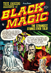Cover for Black Magic (Prize, 1950 series) #v1#6 [6]