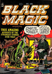 Cover Thumbnail for Black Magic (Prize, 1950 series) #v2#2 [8]