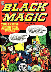 Cover Thumbnail for Black Magic (Prize, 1950 series) #v2#8 (14)