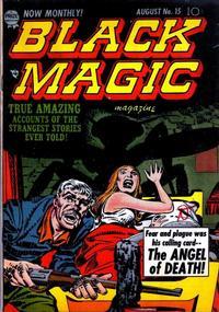 Cover Thumbnail for Black Magic (Prize, 1950 series) #v2#9 (15)
