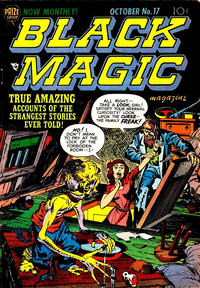 Cover Thumbnail for Black Magic (Prize, 1950 series) #v2#11 (17)