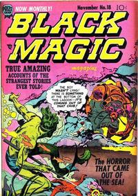 Cover Thumbnail for Black Magic (Prize, 1950 series) #v2#12 (18)