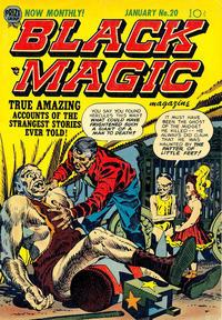 Cover Thumbnail for Black Magic (Prize, 1950 series) #v3#2 (20)