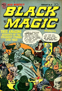 Cover Thumbnail for Black Magic (Prize, 1950 series) #v3#3 (21)