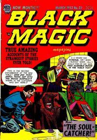Cover Thumbnail for Black Magic (Prize, 1950 series) #v3#4 (22)