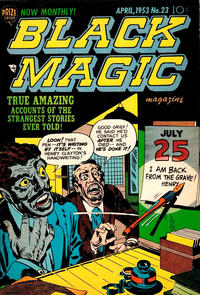 Cover Thumbnail for Black Magic (Prize, 1950 series) #v3#5 (23)
