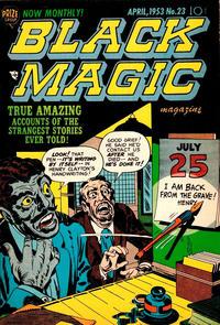 Cover Thumbnail for Black Magic (Prize, 1950 series) #v3#5 (23)