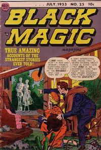 Cover Thumbnail for Black Magic (Prize, 1950 series) #v4#1 (25)