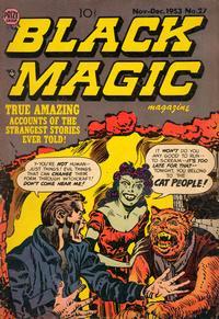 Cover Thumbnail for Black Magic (Prize, 1950 series) #v4#3 (27)