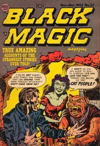 Cover Thumbnail for Black Magic (Prize, 1950 series) #v4#3 (27)
