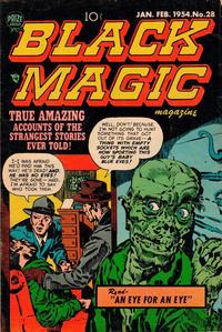 Cover Thumbnail for Black Magic (Prize, 1950 series) #v4#4 (28)