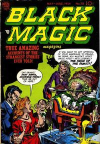 Cover Thumbnail for Black Magic (Prize, 1950 series) #v4#6 (30)