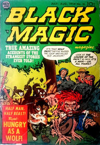 Cover Thumbnail for Black Magic (Prize, 1950 series) #v5#1 (31)