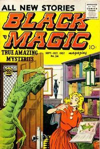 Cover Thumbnail for Black Magic (Prize, 1950 series) #v6#1 (34)