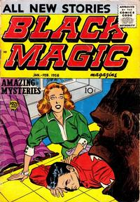Cover Thumbnail for Black Magic (Prize, 1950 series) #v6#3 [36]