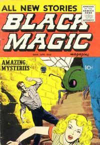 Cover Thumbnail for Black Magic (Prize, 1950 series) #v6#4 [37]