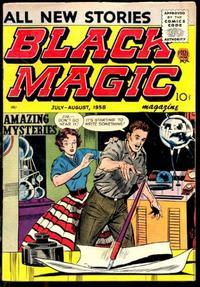 Cover Thumbnail for Black Magic (Prize, 1950 series) #v6#6 [39]