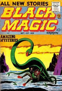Cover Thumbnail for Black Magic (Prize, 1950 series) #v7#1 [40]
