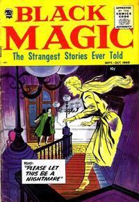 Cover Thumbnail for Black Magic (Prize, 1950 series) #v7#4 [43]