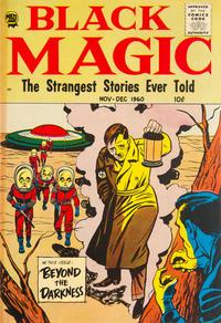 Cover Thumbnail for Black Magic (Prize, 1950 series) #v7#5 [44]