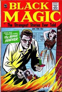 Cover Thumbnail for Black Magic (Prize, 1950 series) #v7#6 [45]
