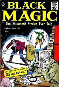 Cover Thumbnail for Black Magic (Prize, 1950 series) #v8#1 [46]