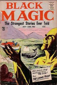 Cover Thumbnail for Black Magic (Prize, 1950 series) #v8#2 [47]